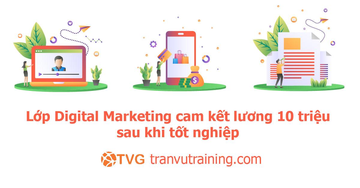 Khóa học Digital Marketing thực chiến tại TP. Hồ Chí Minh