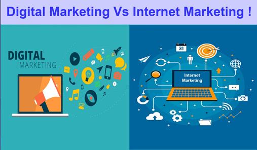 Sự Khác Biệt Giữa Digital Marketing Và Online Marketing
