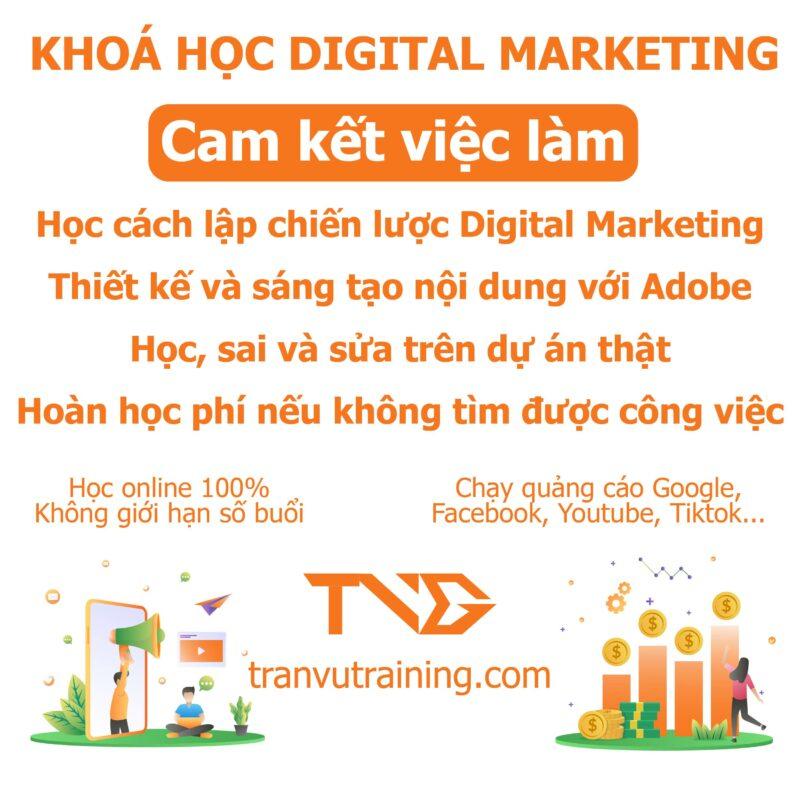 review khóa học digital marketing